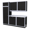 Moduline 9' Pro-II Series Base Wall Cabinet Combo 12