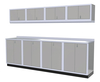 Moduline 10' Pro-II Series Base Wall Cabinet Combo 13