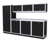 Moduline 10' Pro-II Series Base Wall Cabinet Combo 14
