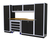 Moduline 10' Pro-II Series Base Wall Cabinet Combo 15