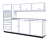 Moduline 10' Pro-II Series Base Wall Cabinet Combo 16