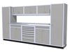 Moduline 12' Pro-II Series Base Wall Cabinet Combo 18