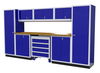 Moduline 12' Pro-II Series Base Wall Cabinet Combo 20