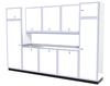 Moduline 12' Pro-II Series Base Wall Cabinet Combo 21