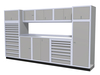 Moduline 12' Pro-II Series Base Wall Cabinet Combo 22