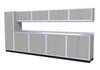 Moduline 14' Pro-II Series Base Wall Cabinet Combo 23