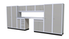 Moduline 16' Pro-II Series Base Wall Cabinet Combo 25