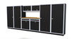 Moduline 16' Pro-II Series Base Wall Cabinet Combo 28