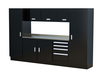 Moduline 10' Select Series Base Wall Cabinet Combo 9
