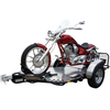 Drop Tail One-Up Cruiser and Sport Bike Trailer