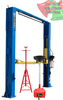 Titan 11K Adjustable Clear Floor 2 Post Lift - DECEMBER SPECIAL