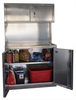"Pit Products 48"" Base and Overhead Cabinet Combo"