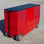 RSR Double Small Toolbox Pit Box Wagon Cart