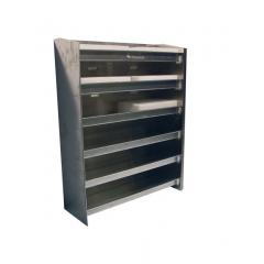 Pit Pal Horizontal Gear Case Storage Rack