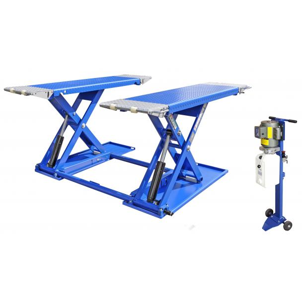 Kernel MR6K-38 6,000lb Portable Mid-Rise Frame Lift