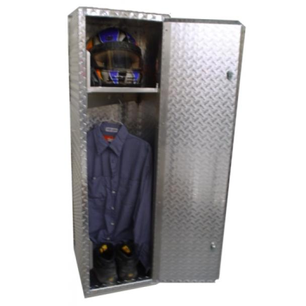 Pit Products 4' Tall Aluminum Storage Locker