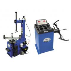K&L Supply Motorcycle Tire Changer Wheel Balancer Combo
