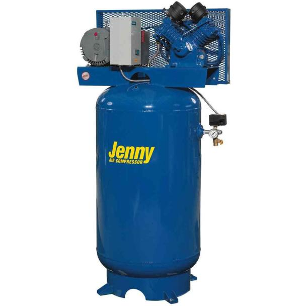 Jenny 80 Gallon Tank 175 Psi Electric Compressor