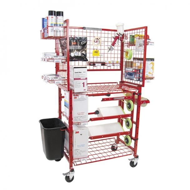 Innovative Painters Prep Cart with Masker