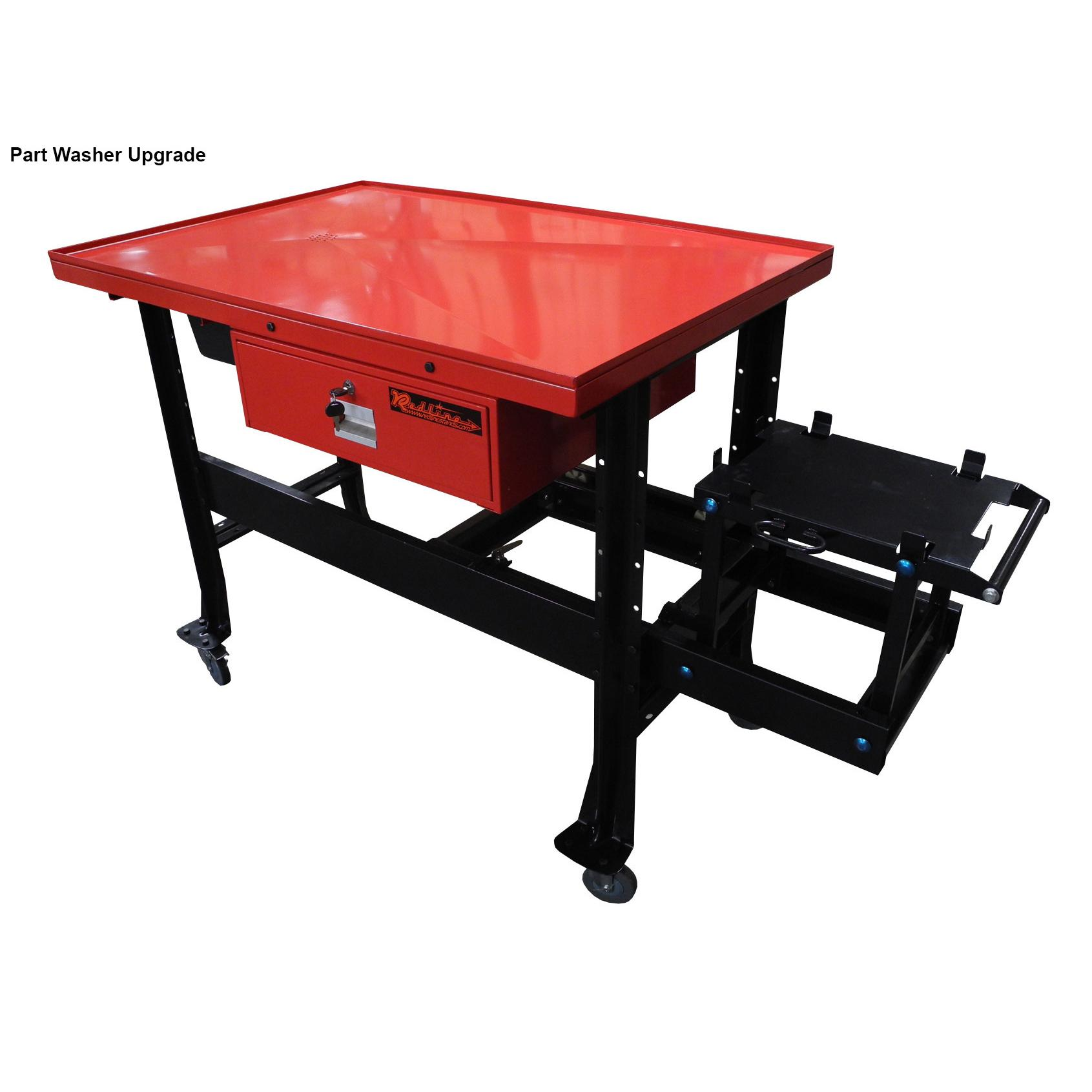 Redline Transmission Tear Down Table With Drain Free
