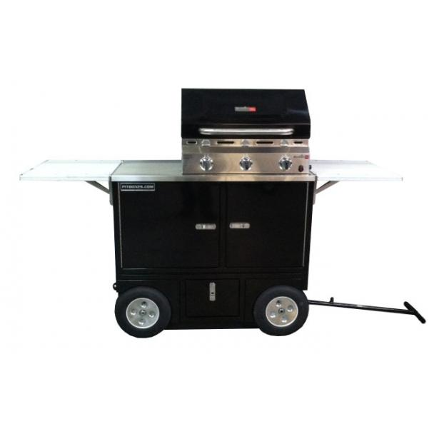 RSR BBQ Grill Pit Box Wagon Cart
