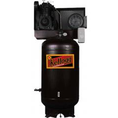 Kellog-American 80G 7.5HP Vertical Tank Electric Compressor