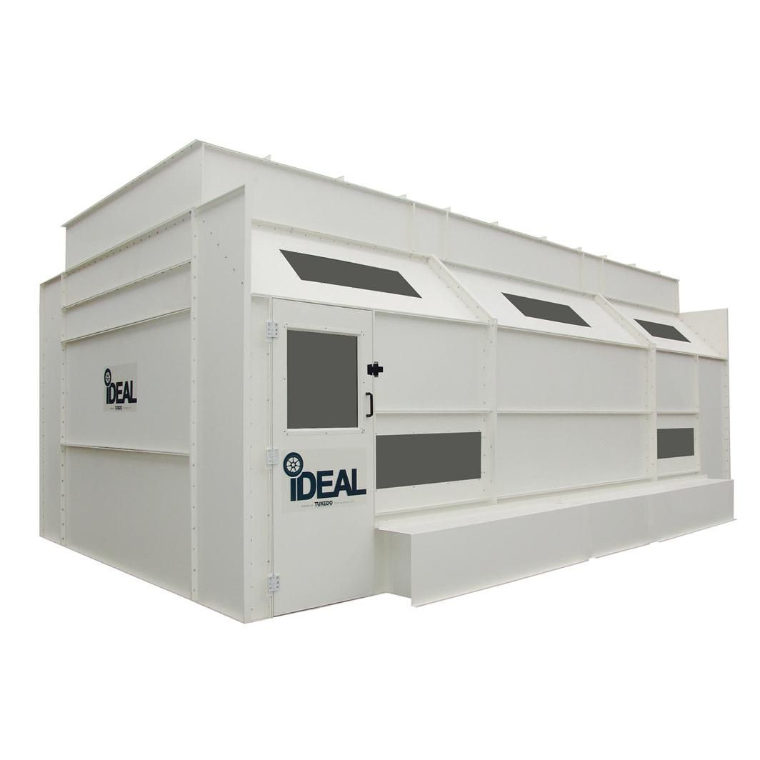 Ideal Side Down Draft Paint Booth