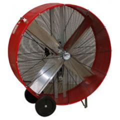 "Maxx Air 36-48"" Belt Drive Barrel Shop Drum Fan"