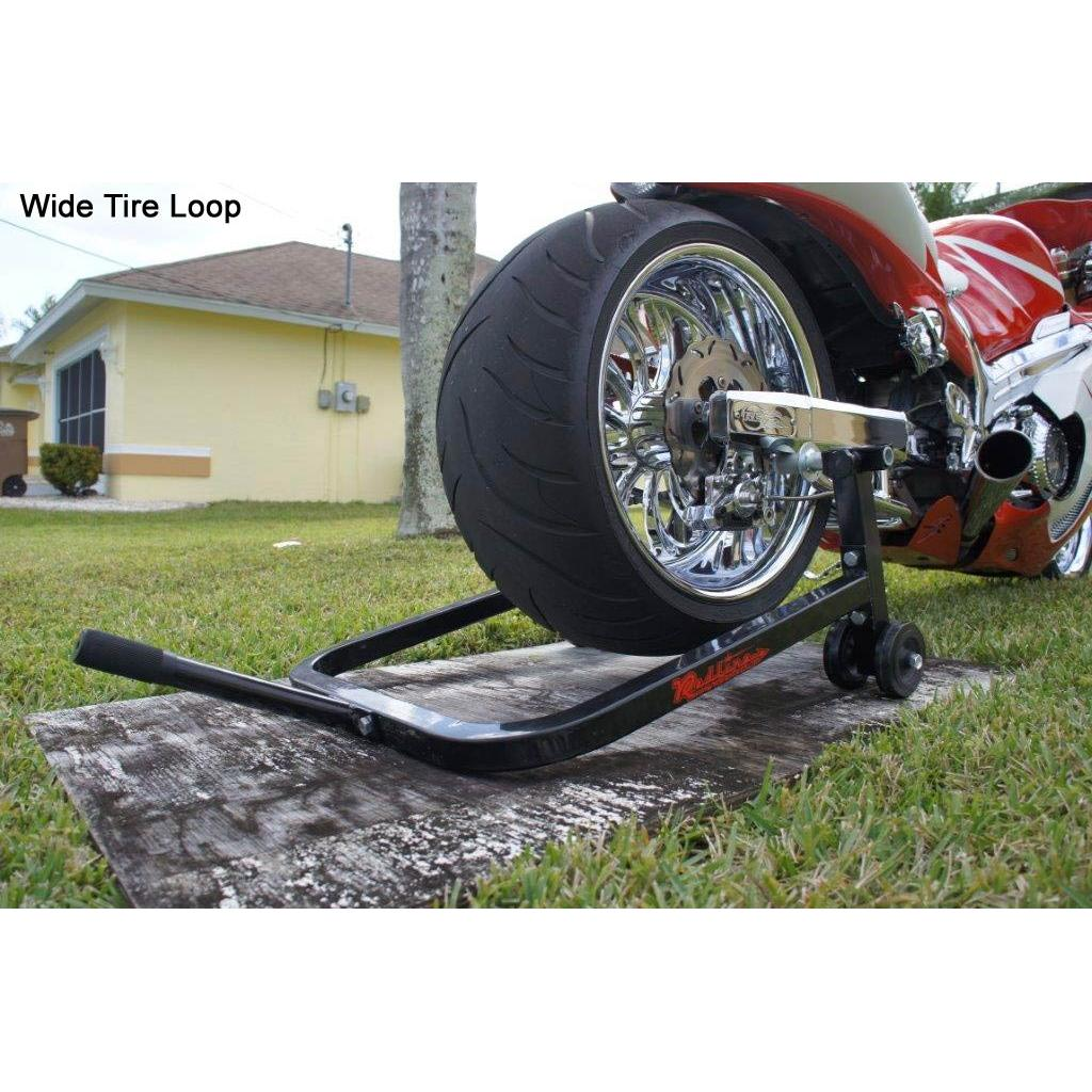 Redline Sport Bike Combo Stand Wide Tire Loop Clearance