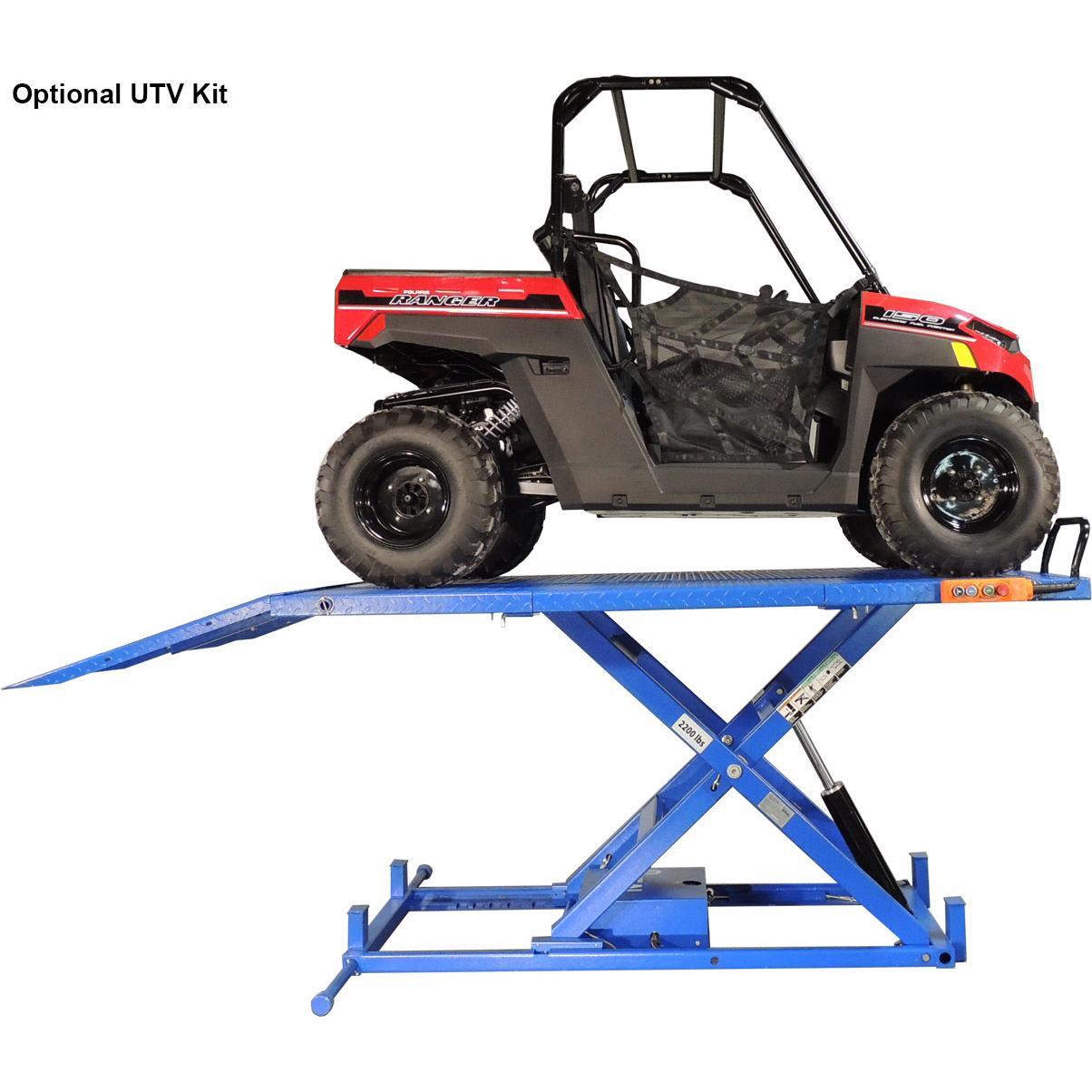 Ideal 2200 Lb Motorcycle Atv Utv Lift Table Free Shipping