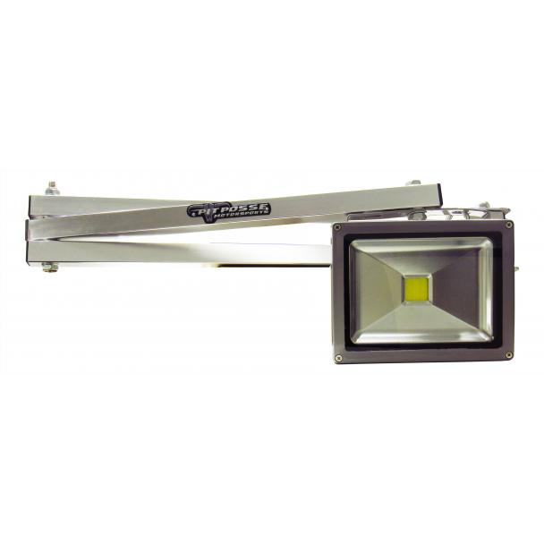 Pit Posse Fold Out Halogen/LED Work Light