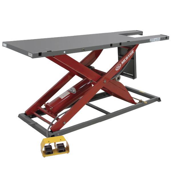 K&L Supply 1000 lb MC615R Motorcycle Lift Table