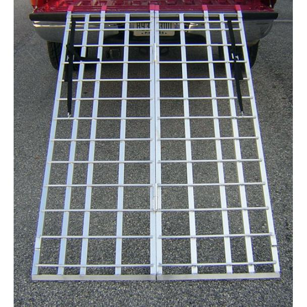 Wide ATV Folding Ramp