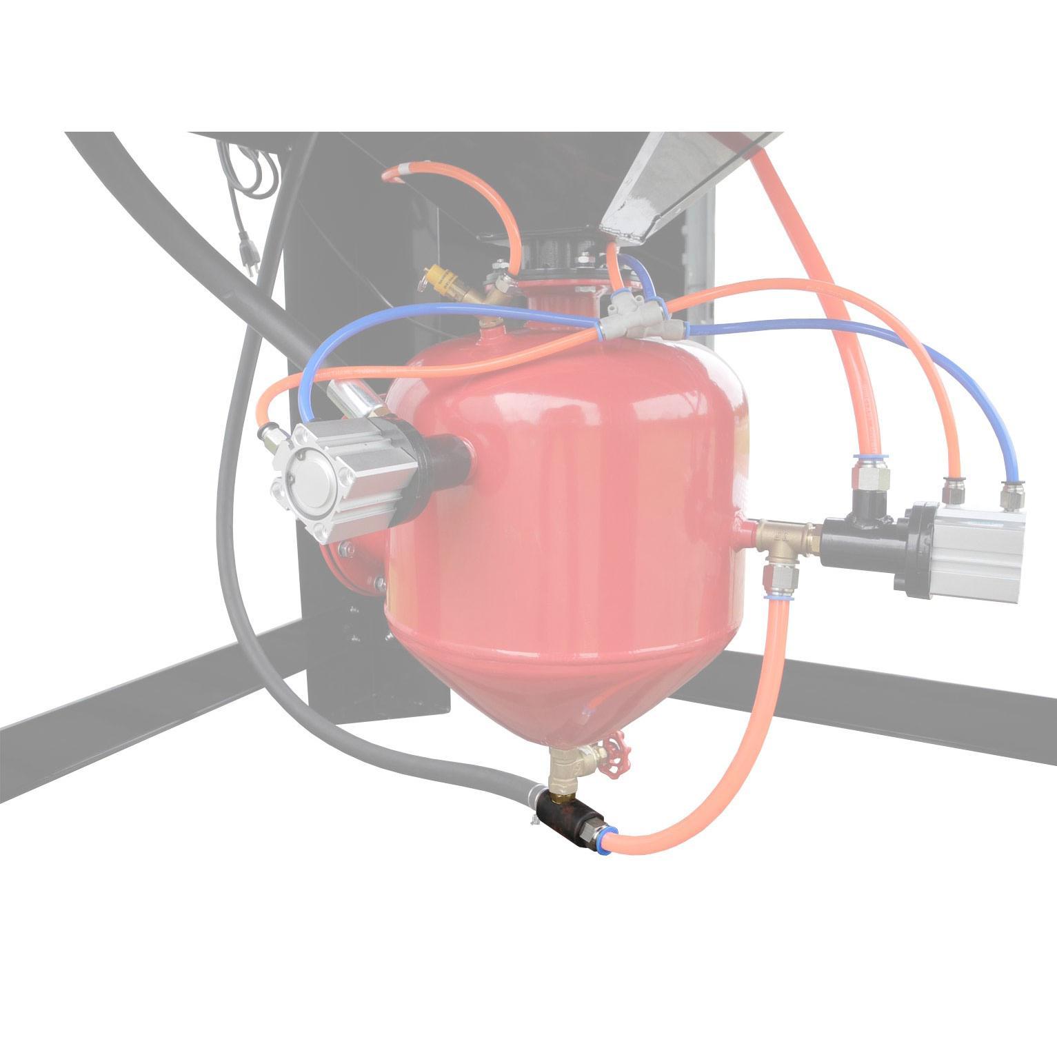 Repp70 Sand Blast Cabinet Air Media Mix Valve Fitting