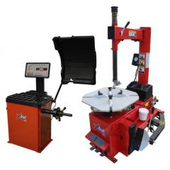 Titan TC450/WB400 Tire Changer Wheel Balancer Combo