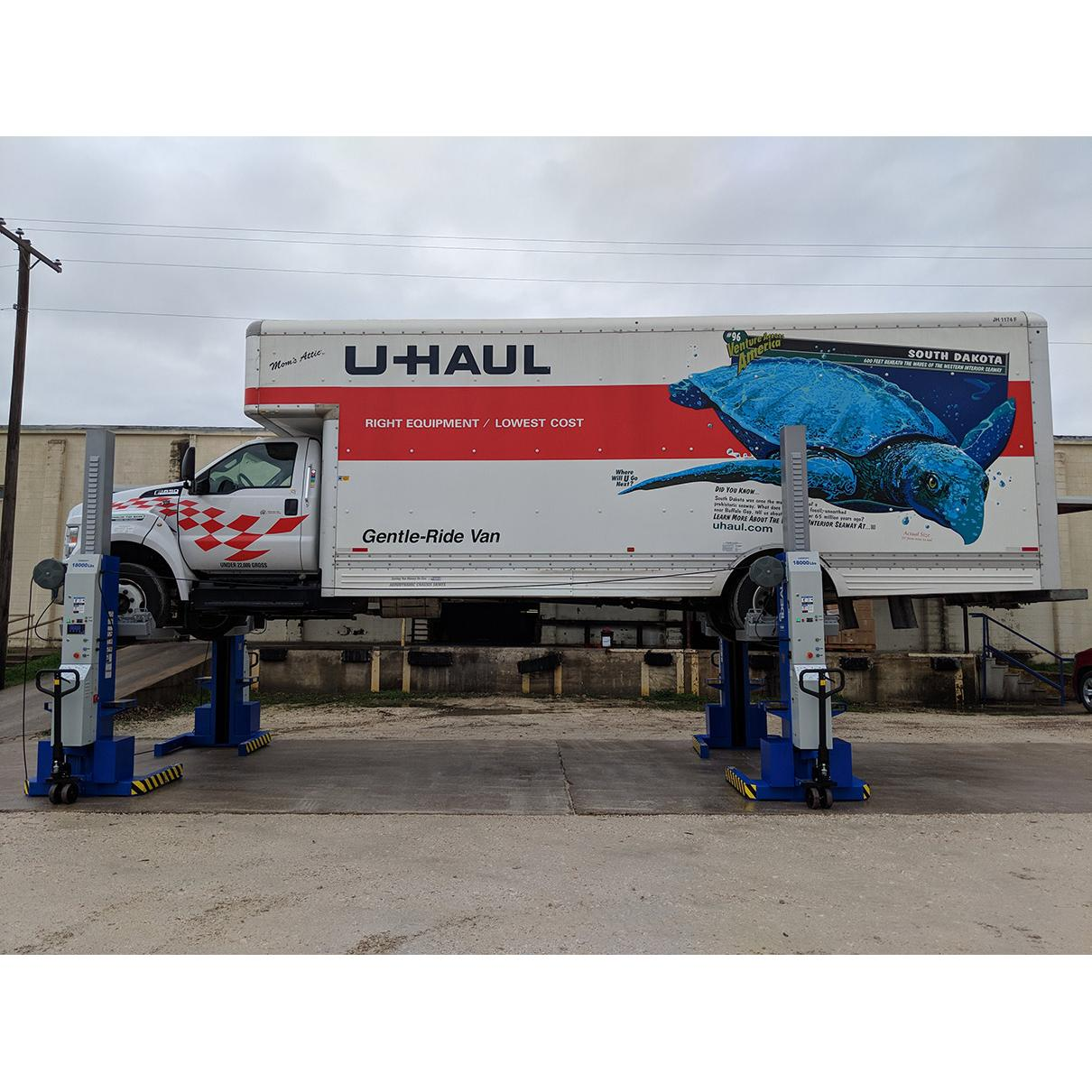 Ideal 18k X Mobile Column Pair Lift System Ali Certified