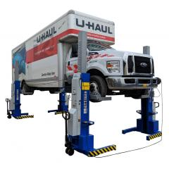 iDEAL 18K-X Mobile Column Pair Lift System ALI Certified