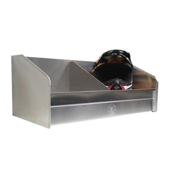 Pit Pal Aluminum Helmet Bay Rack Free Shipping