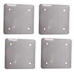 Titan Replacement Plastic Slider Pads for SJ-35 Jack