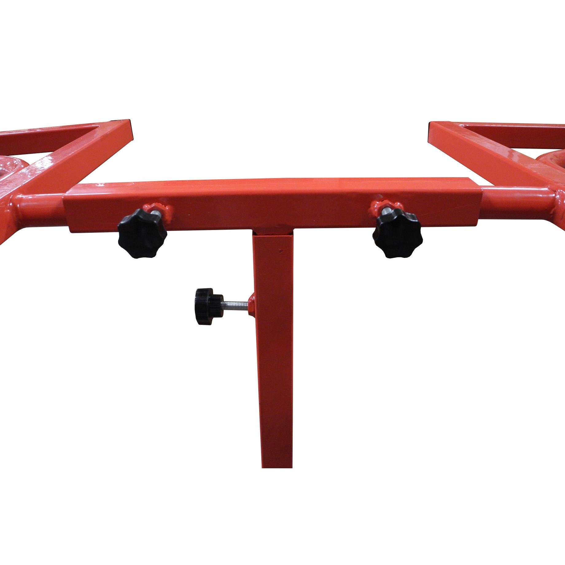 Redline Mobile Dual Wheel Rim Rotating Paint Stand Free
