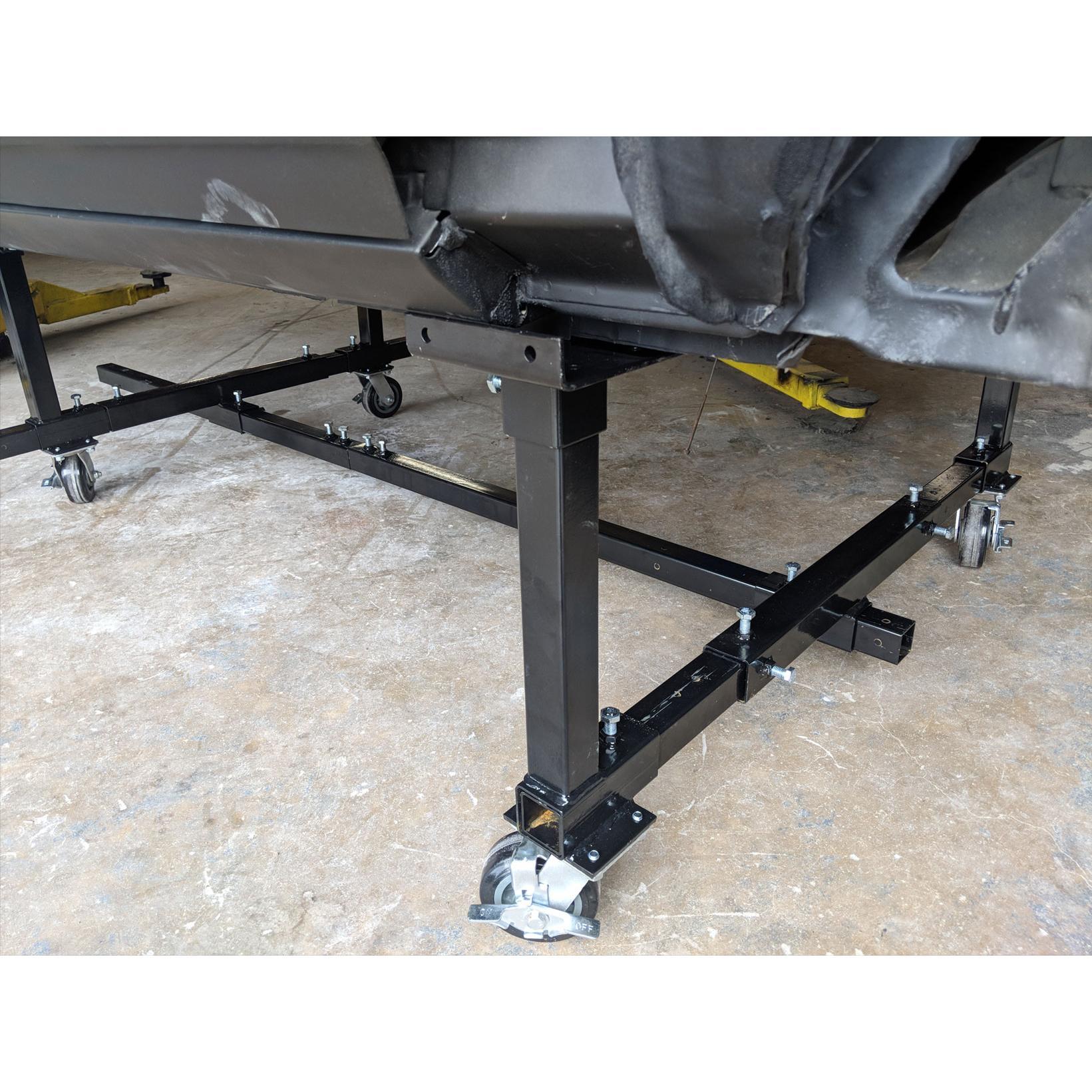 Auto Twirler Mobile Mopar Car Body Restoration Dolly Cart Stand