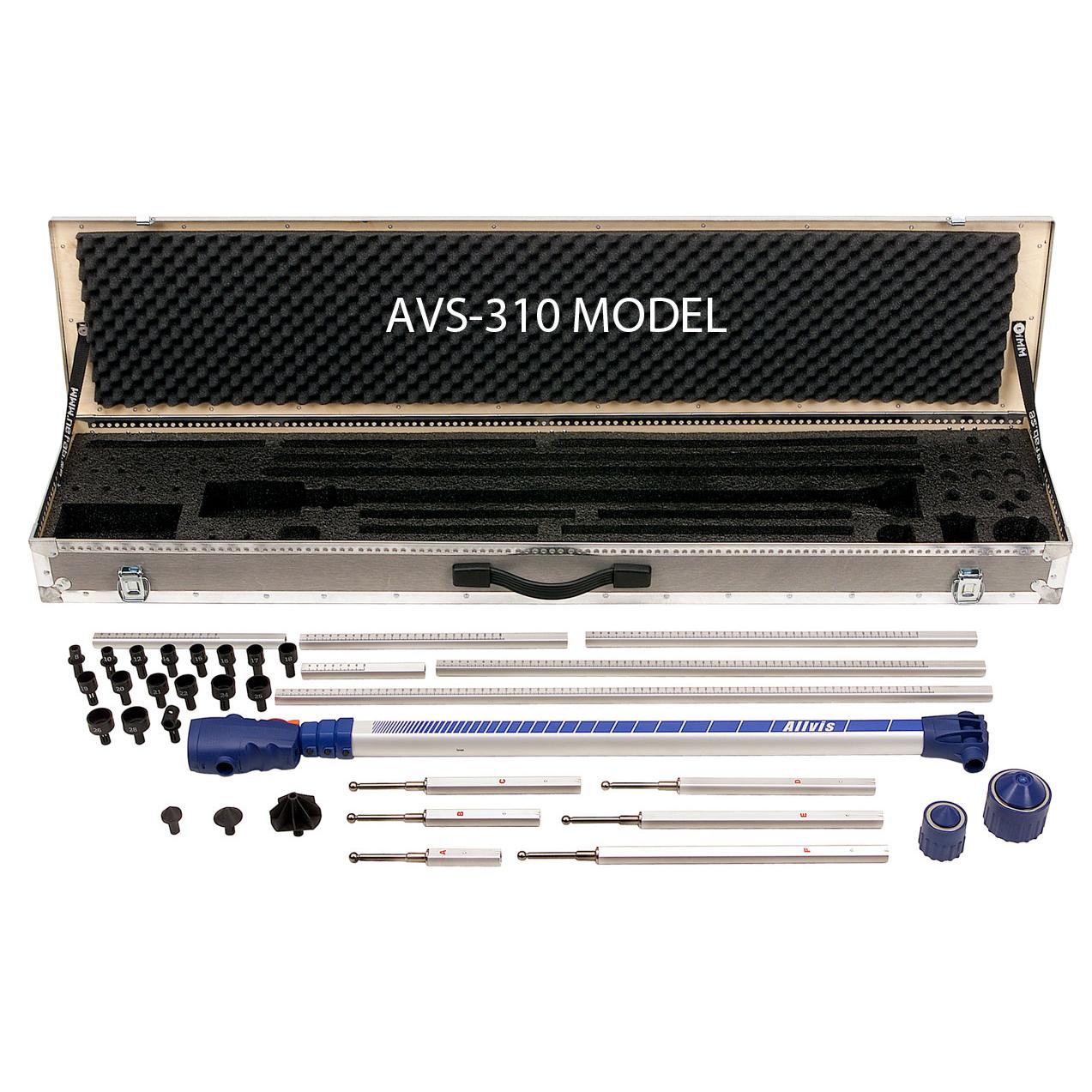 Allvis Computerized Electronic Measuring System Redline