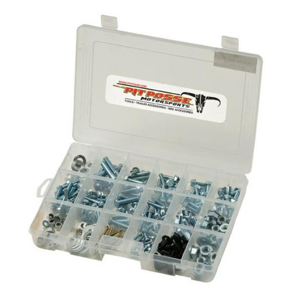 Pit Posse 225pc ATV Assorted Fastener Kit