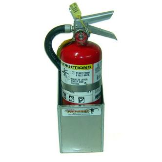 4 5 Fire Extinguisher Rack Free Shipping