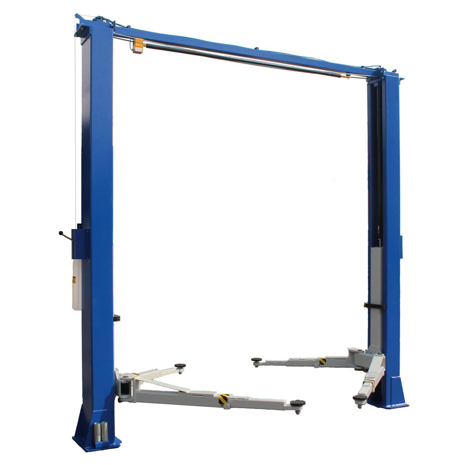Ali Certified 2 Post Lifts Ideal 10k Auto Lift Redline Stands