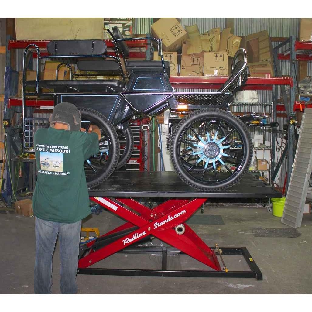 K&L Supply Pneumatic 1750 lb MC625R Motorcycle Lift Table