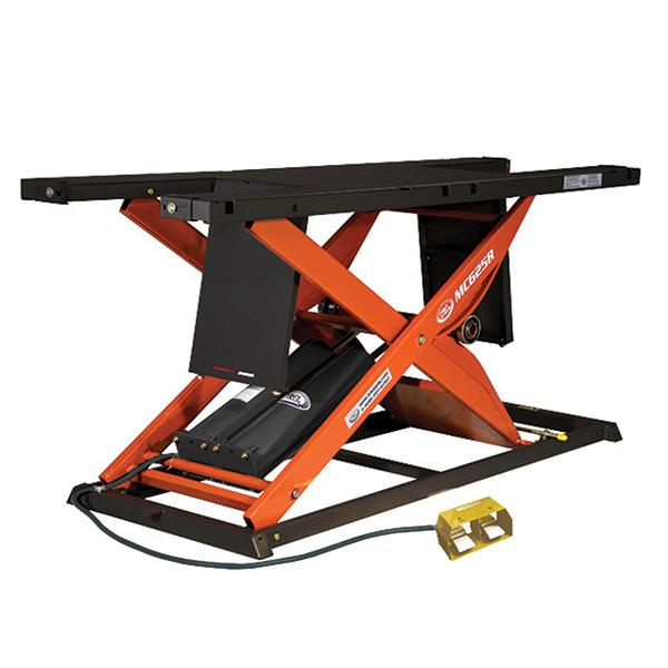 K&L Supply Pneumatic 1750 lb MC625R Motorcycle Lift Table