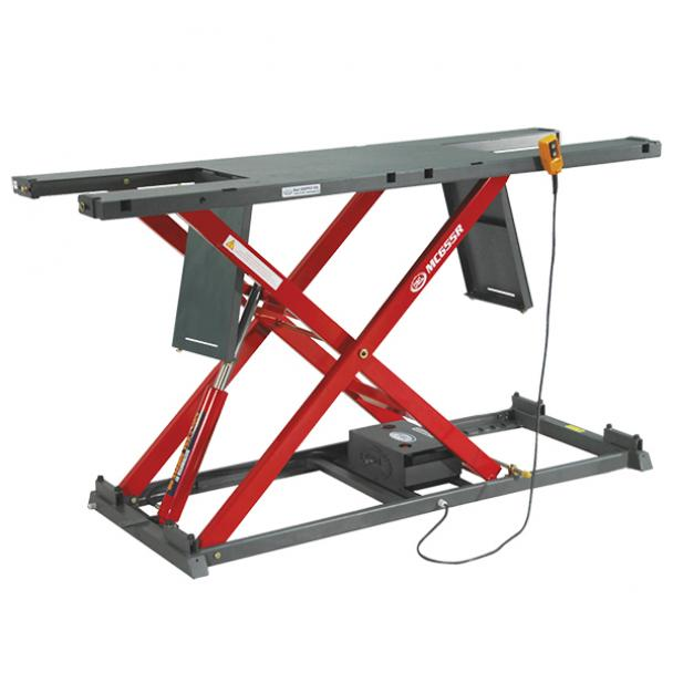 K&L Supply Electric 2000 lb MC655R Motorcycle Lift Table