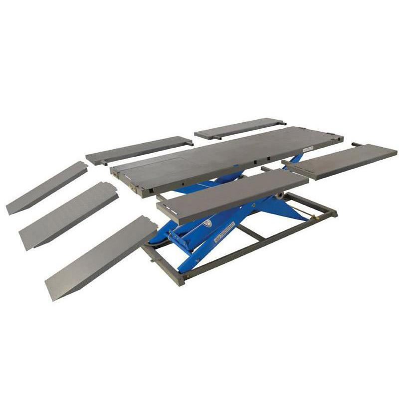 K&L Supply Electric 1000 lb MC500R Motorcycle Lift Table