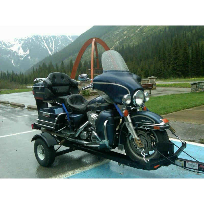 Stinger Single Motorcycle Trailer Free Shipping